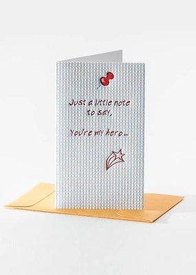 Elum You're My Hero Mini Note