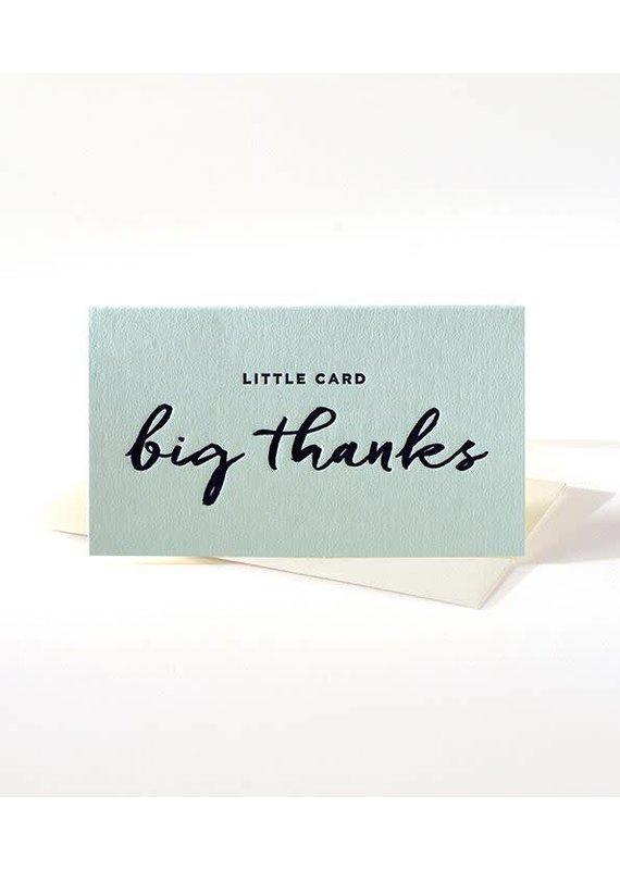 Elum Big Thanks Mini Note