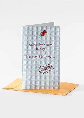 Elum It's Your Birthday Mini Note