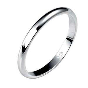 Sterling Silver High Polish Ring