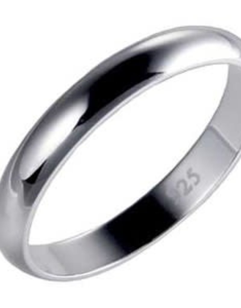 Sterling Silver High Polish Ring
