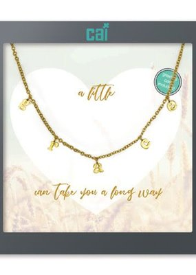 Cool & Interesting Gold Grace Necklace