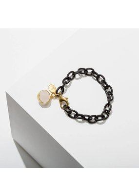 Larissa Loden Rose Quartz Dahlia Bracelet
