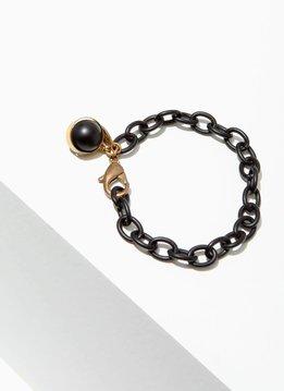 Onyx Dahlia Bracelet