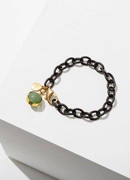 Green Aventurine Dahlia Bracelet