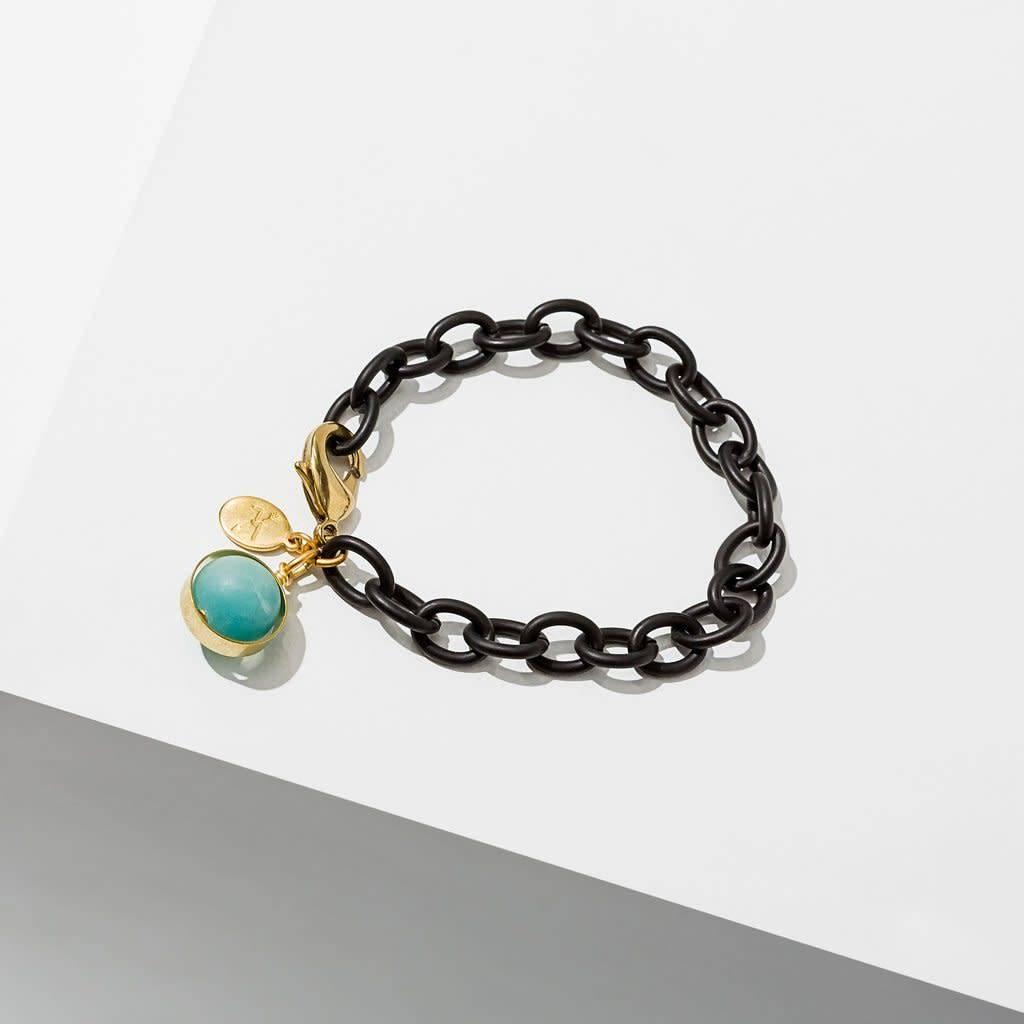 Amazonite Dahlia Bracelet