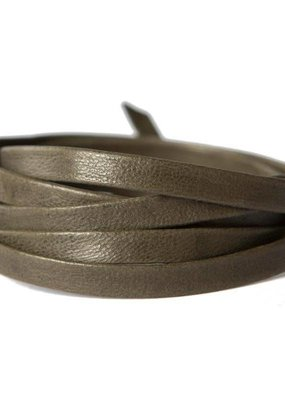 Lenny & Eva Olive Leather Wrap Bracelet