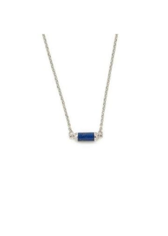 Lenny & Eva Lapis Lazuli Silver Gemstone Choker