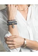 Lenny & Eva Lapis Lazuli Gemstone 6mm Bracelet
