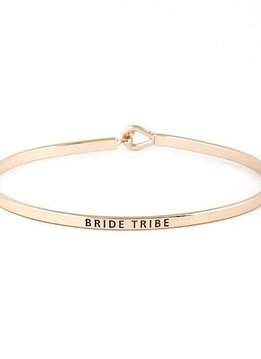 Bride Tribe Rose Gold Bangle