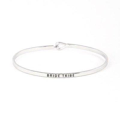 Bride Tribe Silver Bangle