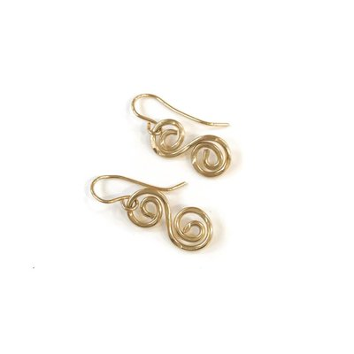 Something Charming 14K Gold Filled S-style Earrings