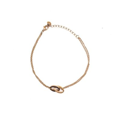 Stainless Steel Rose Gold Anklet