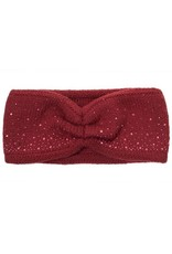 C.C. CC Burgundy Sparkle Headwrap