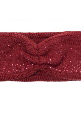 C.C. Burgundy Sparkle Headwrap