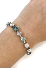Rachel Marie Jane Tennis Bracelet Waterlily