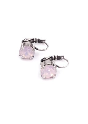Rachel Marie Jess Earrings Rose Water Opal