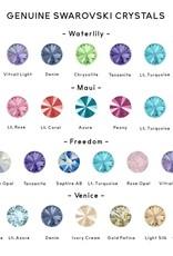 Rachel Marie Jess Earrings Rose Water Opal