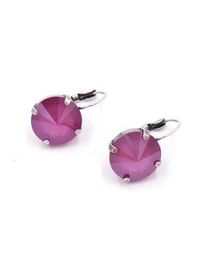 Rachel Marie Bev Earring Peony Pink