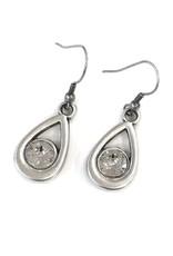Rachel Marie Callie Teardrop Swarovski Earring Clear