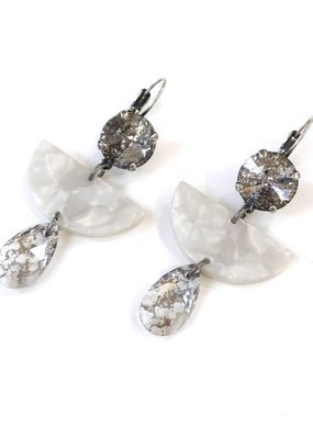 Rachel Marie Dakota Acrylic Drop Earrings