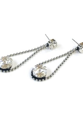 Rachel Marie Irina Drop Earring Clear