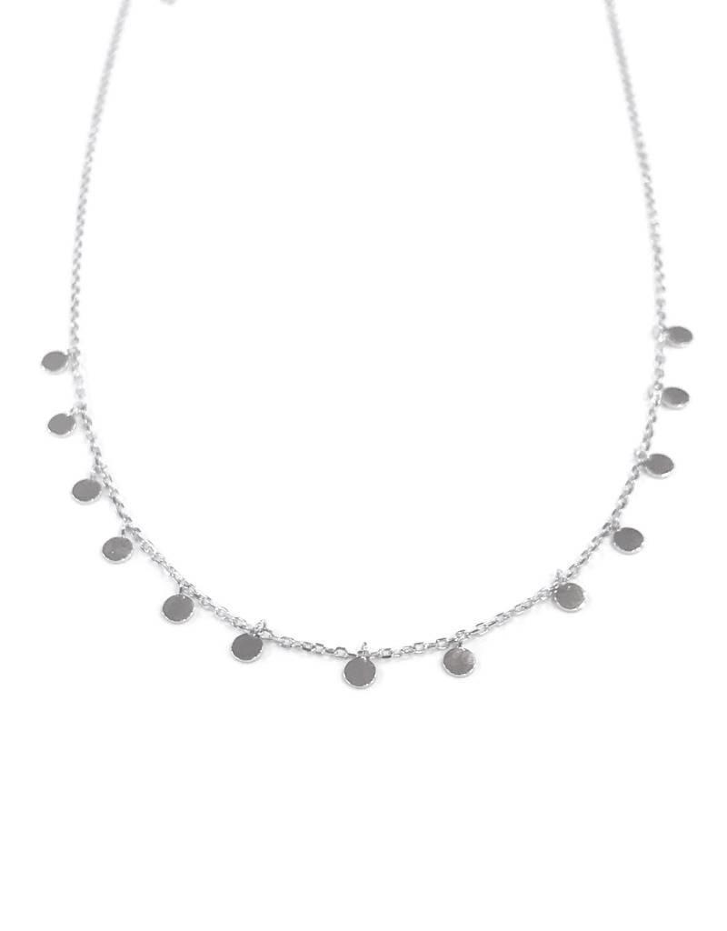 iiShii Designs Sterling Silver Confetti Necklace