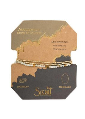 Scout Amazonite Delicate Stone Wrap