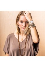 Scout Howlite Rose Gold/Silver Stone Wrap