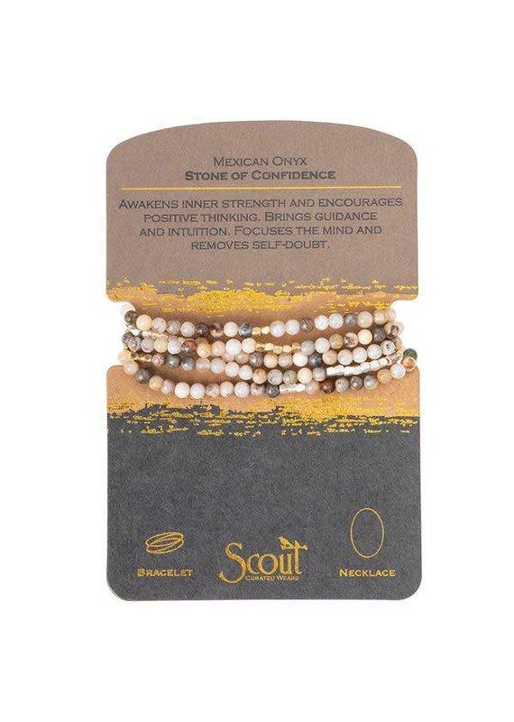 Scout Mexican Onyx Stone Wrap