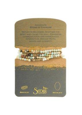 Scout Amazonite Stone Wrap