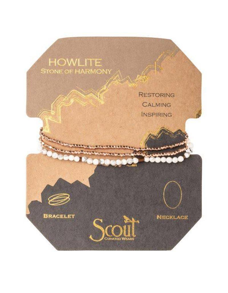 Scout Howlite Delicate Stone Wrap