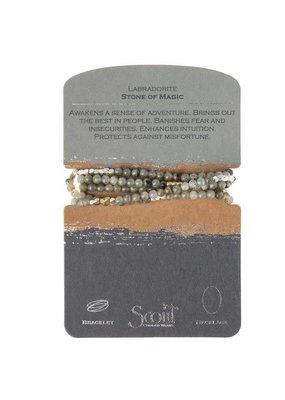 Scout Labradorite Stone Wrap
