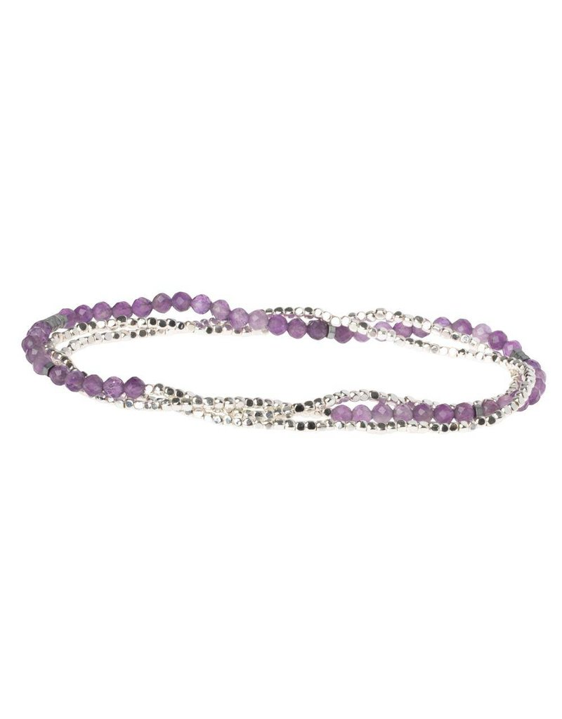 Scout Amethyst Delicate Stone Wrap