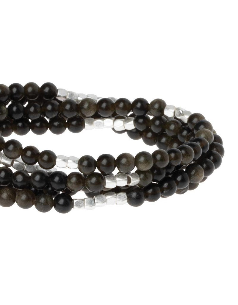 Scout Obsidian Stone Wrap