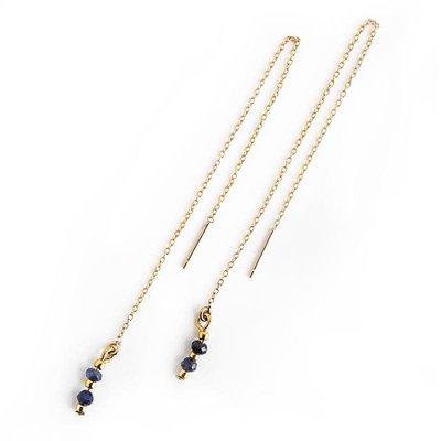 Lenny & Eva Ollie Earrings Lapis Lazuli