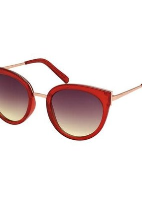 Blue Gem Jelly Red & Gold w Smoke to Brown Lens