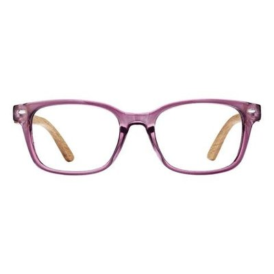 Bradford Crystal Purple & Pear Wood 2.25 Reader Lens