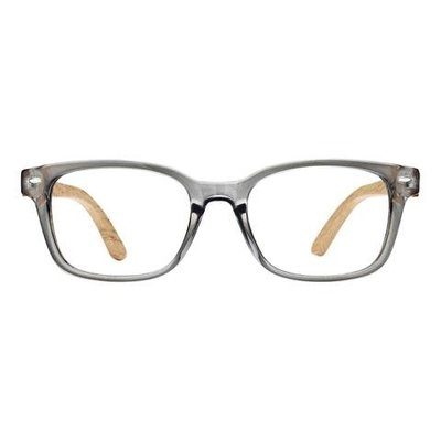 Bradford Crystal Grey & Pear Wood 1.25 Reader Lens