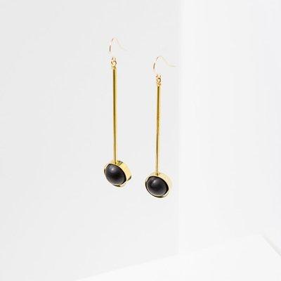 Larissa Loden Onyx Aberrant Earrings