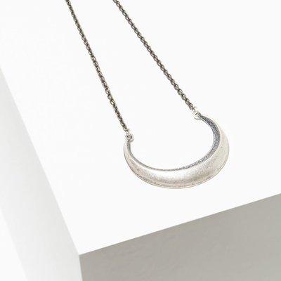 Larissa Loden Silver Cresent Moon Necklace