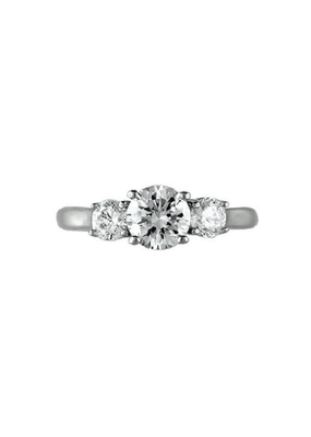 Sterling Silver CZ Tripple Ring