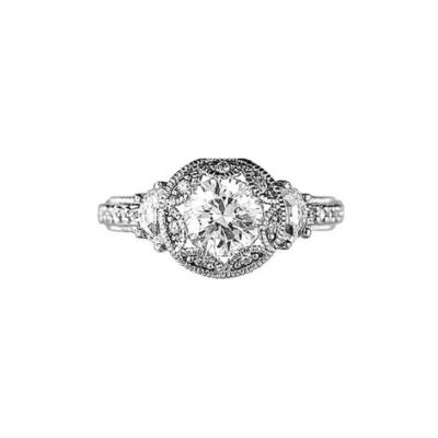 Sterling Silver Vintage CZ Ring SZ 7