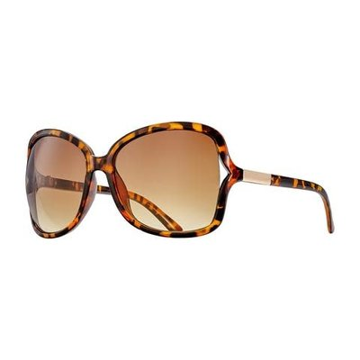 Blue Planet Anne Amber Tortoise & Gold w Polarized Gradient Brown Lens