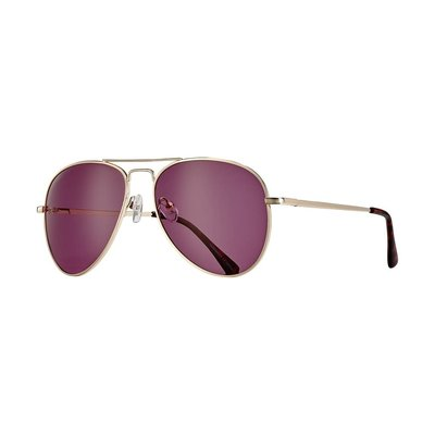 Blue Planet Lear Gold & Tortoise Tips w Violet Polarized Lens