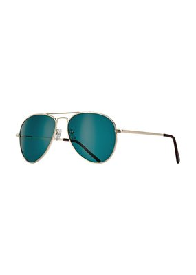 Blue Planet Lear Gold & Tortoise Tips w Green Polarized Lens