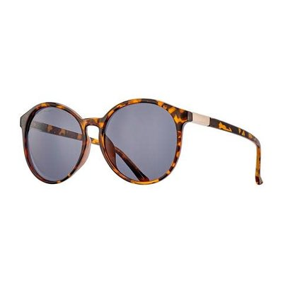 Blue Planet Miri Amber Tortoise & Gold w Smoke Polarized Lens
