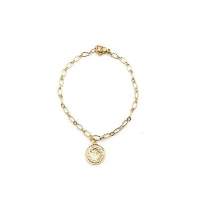 iiShii Designs Coin Link Bracelet