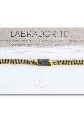 Lenny & Eva Elin Cord Bracelet Labradorite