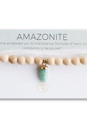 Lenny & Eva Berklee Stretch Bracelet Amazonite